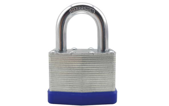 Galvanized surface iron laminated padlocks, Stable quality,2pcs brass keys,iron padlocks